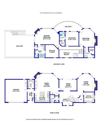 150 Patrician Way Patrician Floor Plan