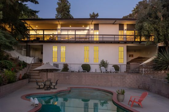 1655 California Place Pool Exterior Dusk Web