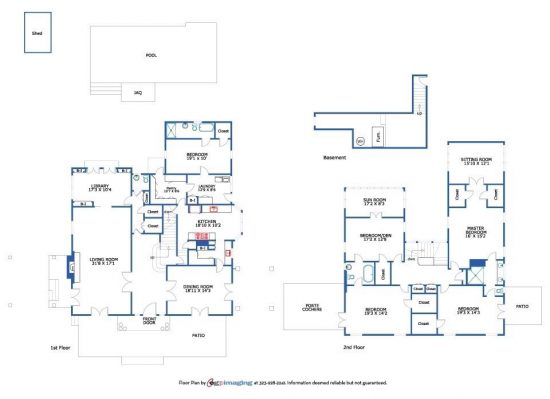 2725 Visscher Place Floorplan