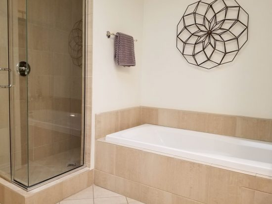 742 Locust Street Master Bath With Stall Shower And Soaking Tub