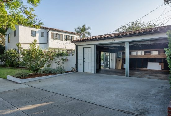 1253 Moncado Drive Garage And House Print